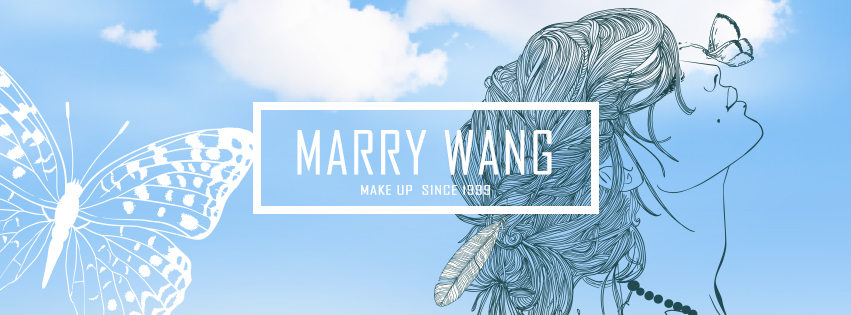 2016 MARRY WANG.瑪麗王.自由奔放.逆時彩妝 2018  WWW.MARRY.TAIPEI  WWW.MAKEUP.TAIPEI   WWW.WEDDING.IDV.TW
